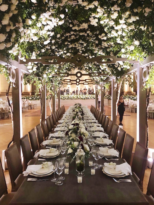 Design an Amazing Wedding Rose Arbor