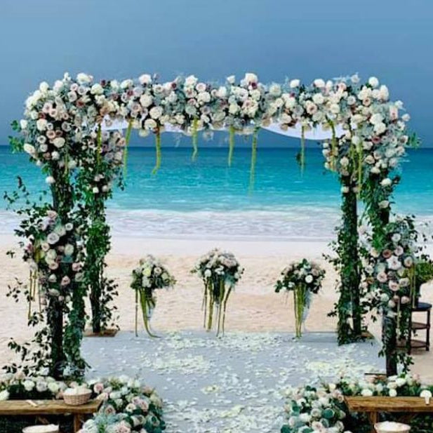 Tropical tips - Flowers for a Bahama Beach Wedding