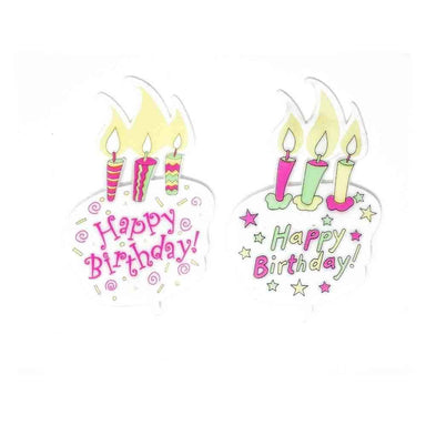 Happy Birthday Balloon Floral Picks and Cardholder - Oasis Floral Products NA
