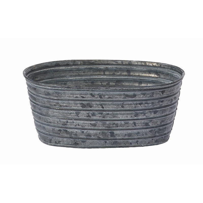 OASIS® Oval Tin Pots - Oasis Floral Products NA