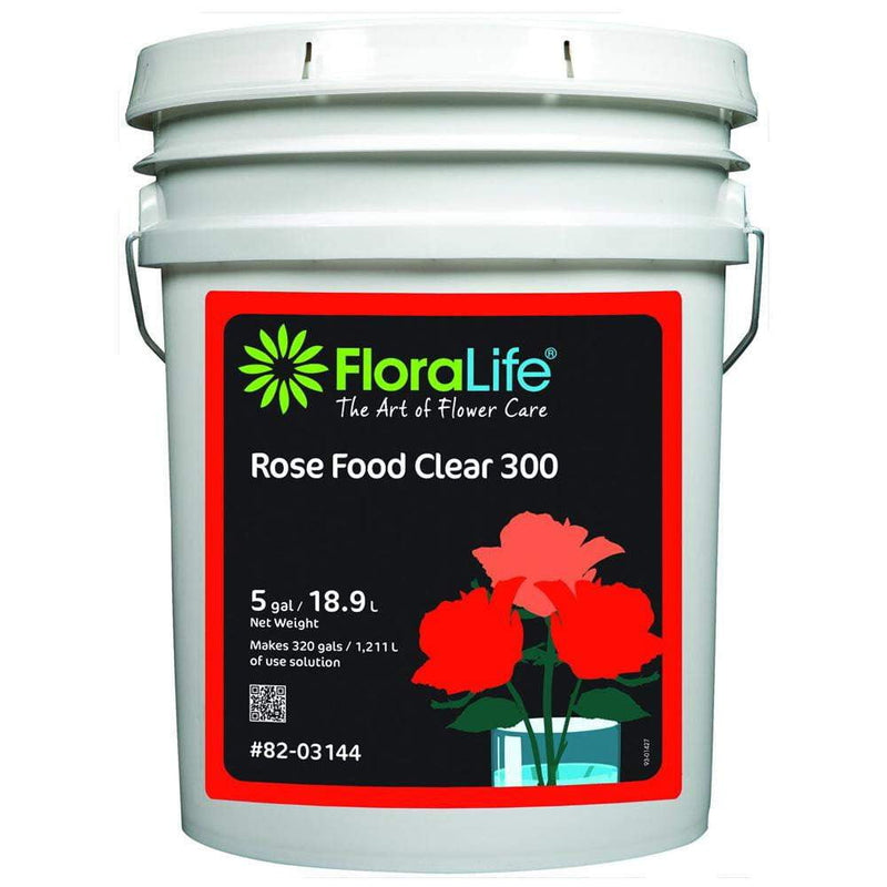 Floralife® Rose Food Clear 300 - Liquid - Oasis Floral Products NA