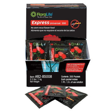 Floralife® Express Universal 300 - Packets - Oasis Floral Products NA