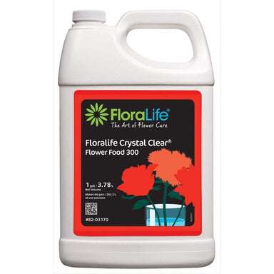Floralife CRYSTAL CLEAR® Flower Food 300 Liquids - Oasis Floral Products NA