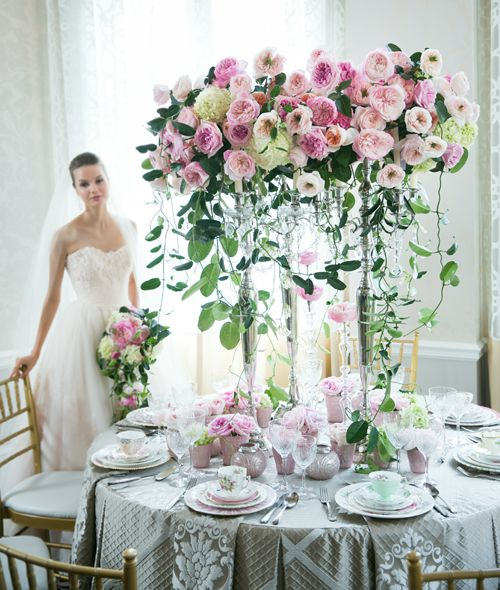 Sensational wedding floral centerpieces