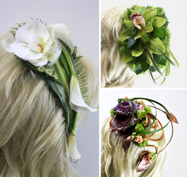 3 floral fascinators | Oasis Floral Products