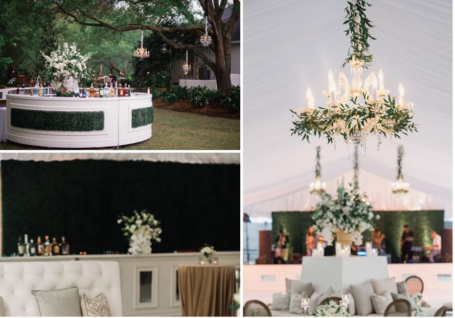black tie wedding | OASIS Floral Products