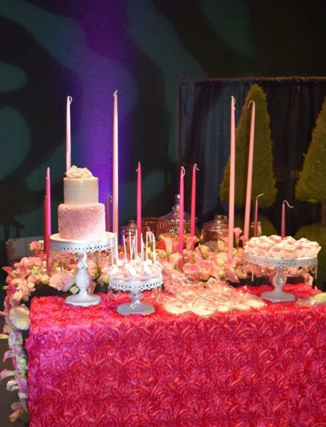 Hot Pink Sweets Table | Oasis Floral Products
