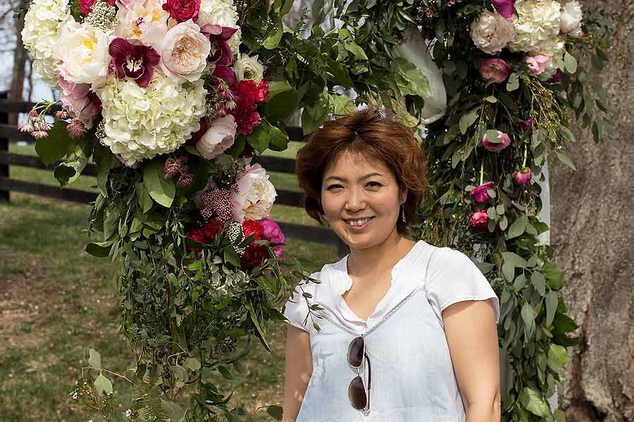 Jeanne Ha AIFD florist local flowers | OASIS Floral Products