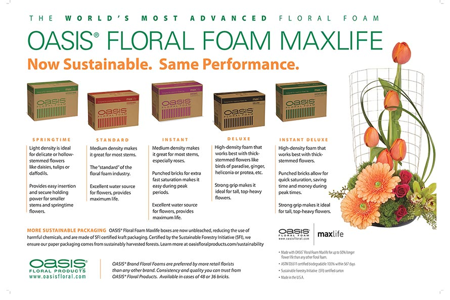 How And Why To Use Floral Foam Oasis Floral Products Na