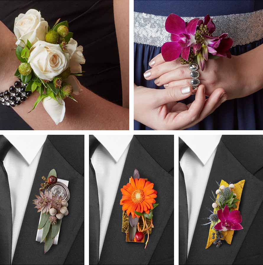 Prom floral designs | OASIS Floral Producs