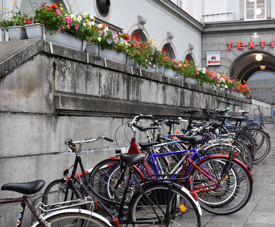 Petals and Pedal Bikes | OASIS Floral Products