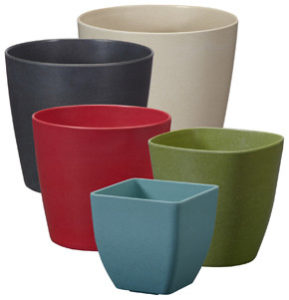 Biodegradable floral containers