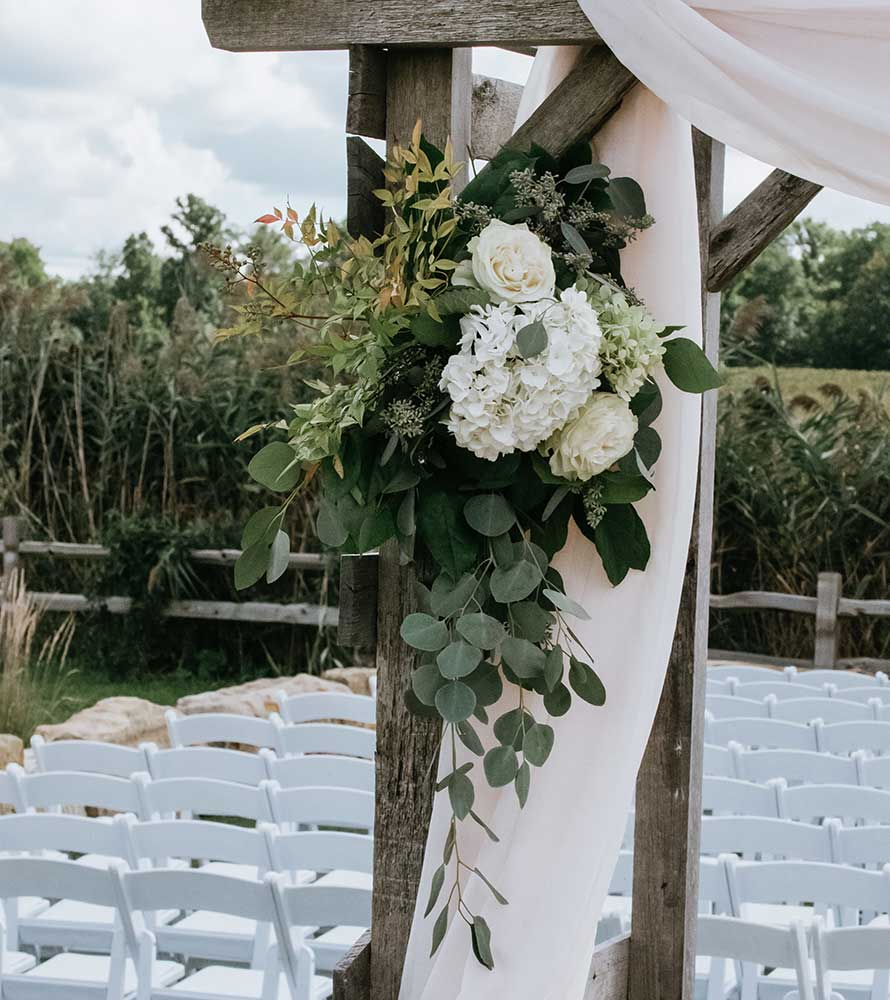 Outdoor wedding floral design techniques | OASIS Floral Products