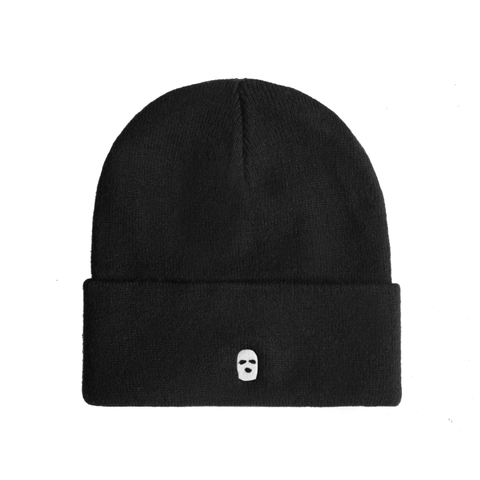 Embroidered Ski Mask Beanie