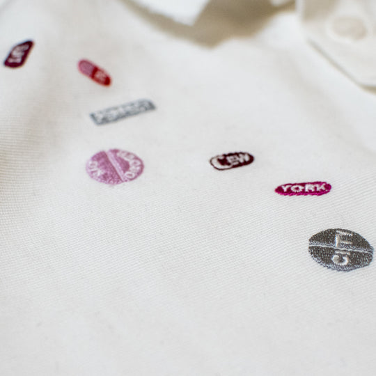 Pills Grosgrain Signature Pierced Buttondown Shirt