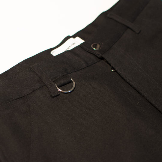 Black Denim Work Trousers