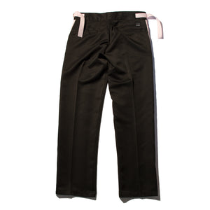 Black Side Stripe Trousers