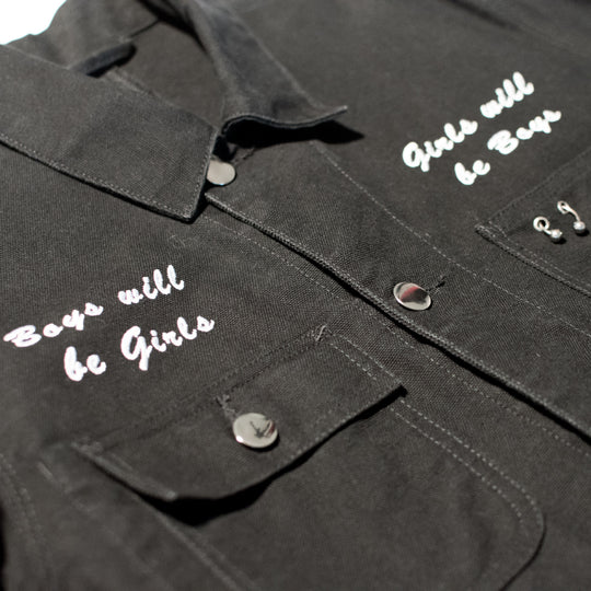 Boys Will Be Girls, Girls Will Be Boys Chore Coat
