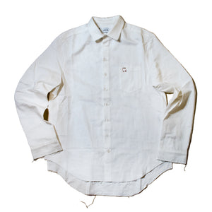 Grosgrain Signature Pierced Buttondown Shirt
