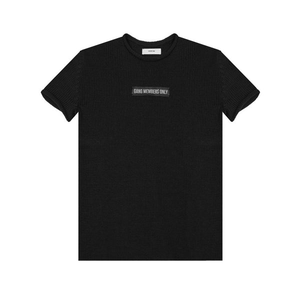 Gang Members Only Short Sleeve Knit