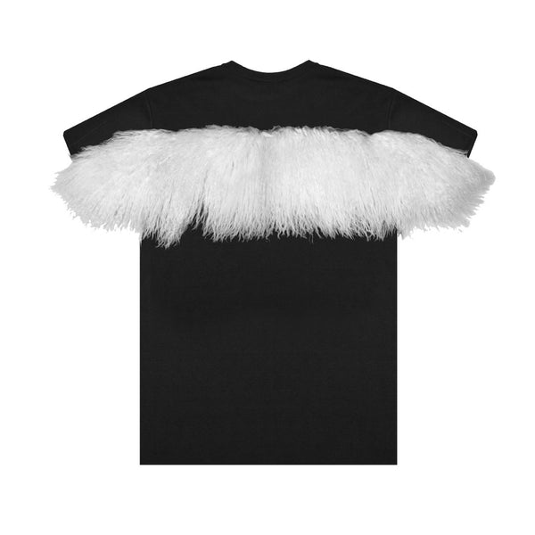 Fur Stripe Tee