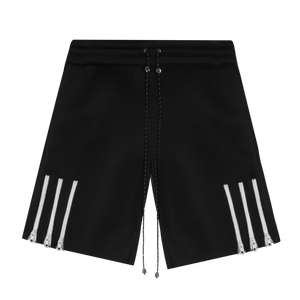 Zipper Stripe Shorts