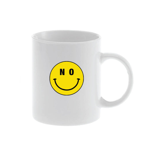 No Smiley Mug