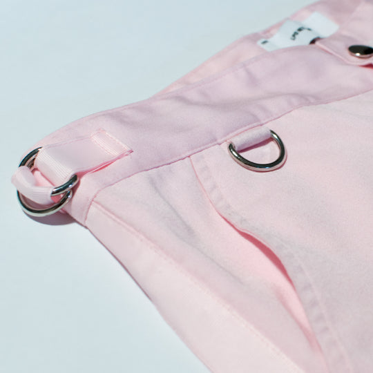 Pink Side Stripe Trousers