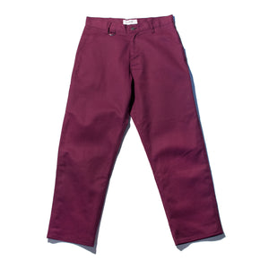 Purple Denim Work Trousers