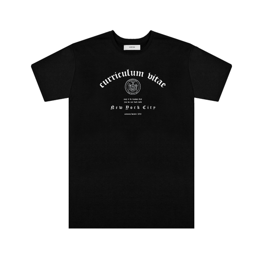 """Curriculum Vitae"" Collection Tee"