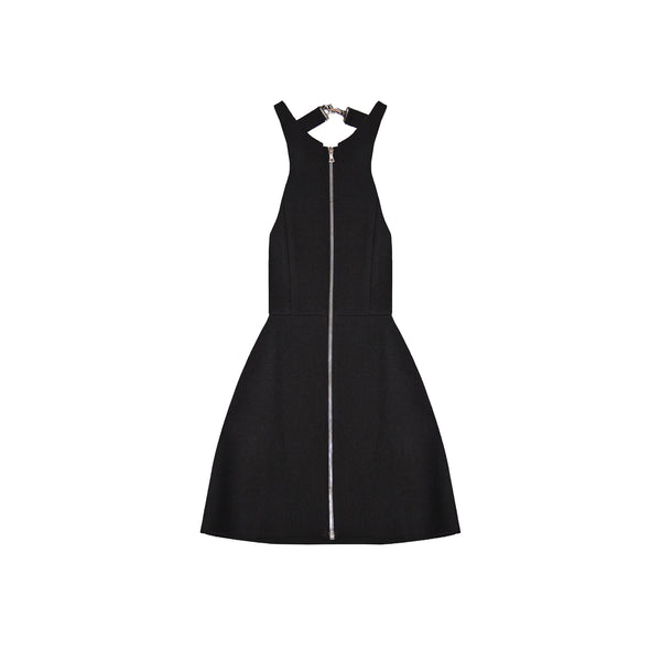 Heritage Wool Zip Front Dress