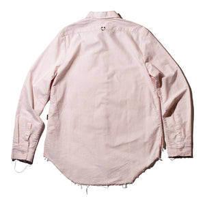 Pink Stripe Signature Pierced Buttondown Shirt