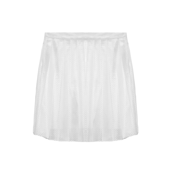 Tricot Mesh Cheerleader Skirt