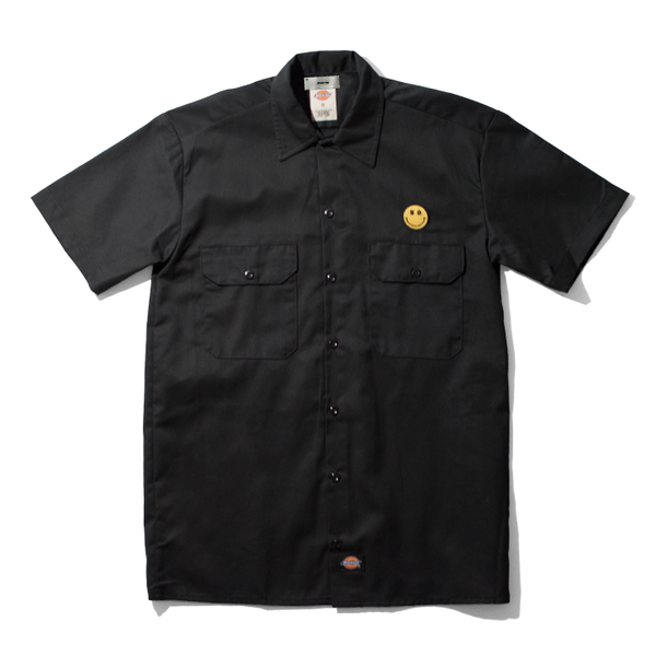 No Smiley Face Work Shirt