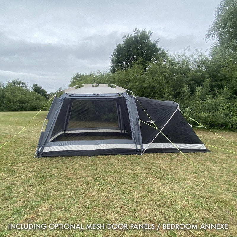 Khyam 2021 ScreenHub Quick Erect 2 Berth Tent Bundle