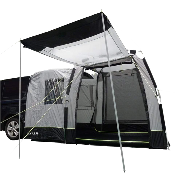 Khyam 2021 Motordome Tailgate XL Quick Pitch Rear Awning Bundle