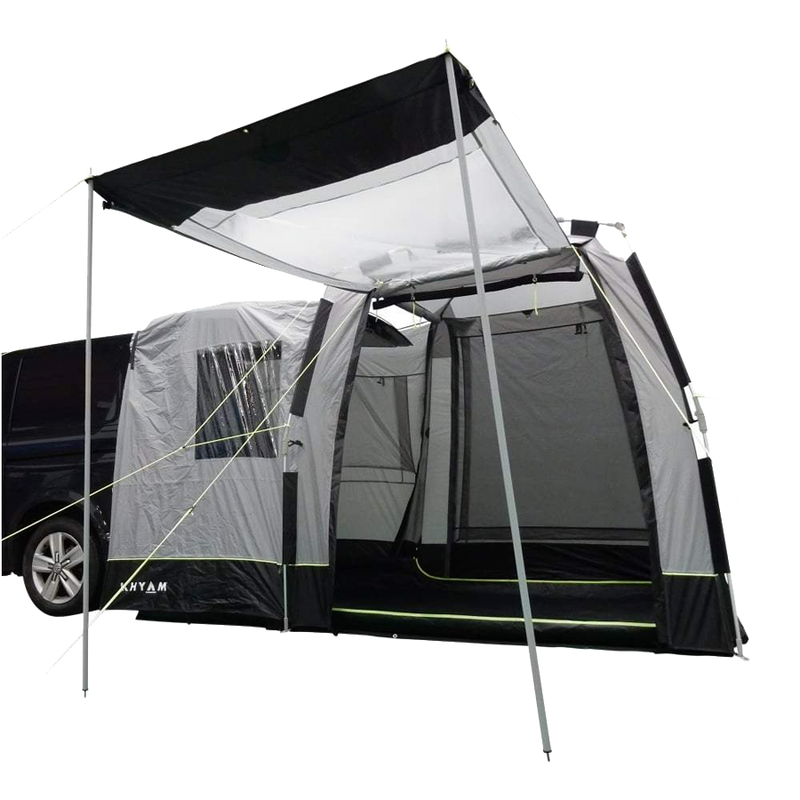 2021 Motordome Tailgate XL Quick Pitch Rear Awning Bundle