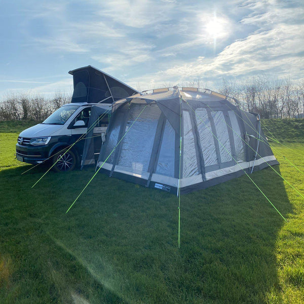 Khyam 2021 Motordome Sleeper Pro Quick Pitch Awning Bronze Bundle