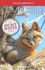 2016 Fall Covertside Issue w/Hunt Roster