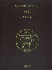 Constitution & By-Laws (2010)