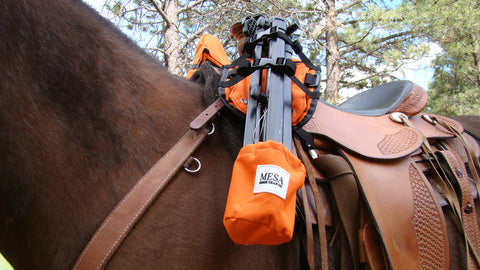 Horse tripod carrier