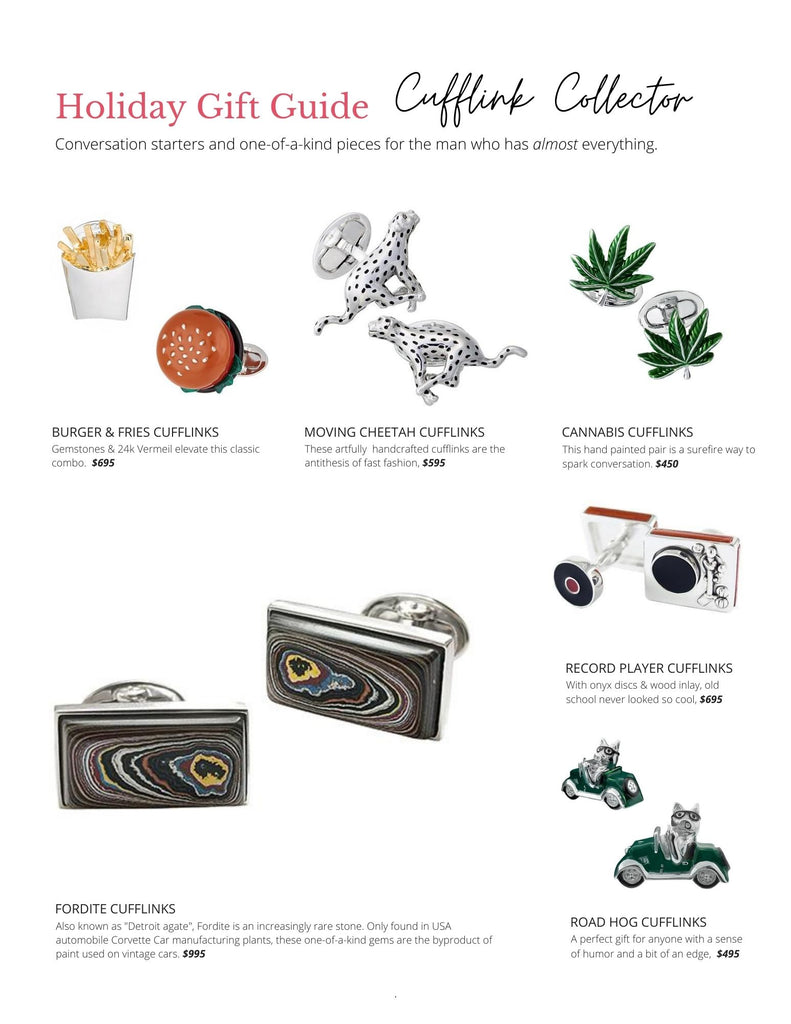 Gifts for Cufflink Collectors