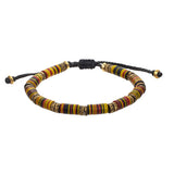 African Beaded Tribal Men's Bracelet by Jan Leslie