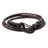 Leather Wrap Men's Bracelet
