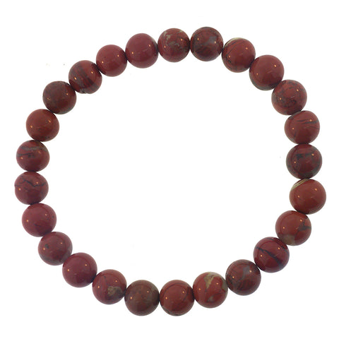 Semiprecious Gemstone Beaded Bracelet