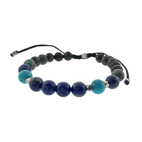 Mixed Gemstone Bracelet - Jan Leslie Cufflinks and Accessories