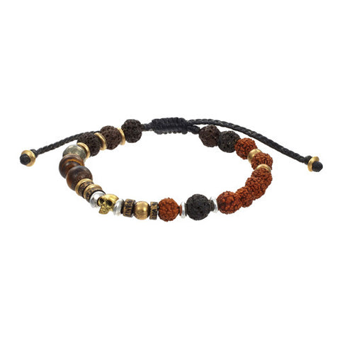 Multicolored Beaded Men's Bracelet