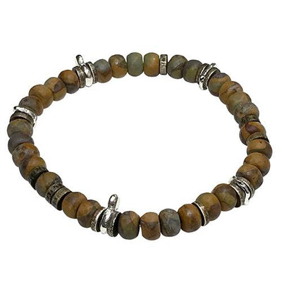 Matte Tigers Eye Power Stone Bracelet Bracelets Jan Leslie Jan Leslie
