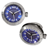 Blue Sports Watch Cufflinks by Jan Leslie