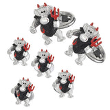 Devil Monkey Tuxedo Cufflinks and Studs by Jan Leslie